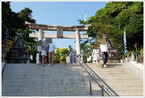 山梨 ドライブデート 武田神社